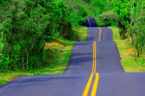 Image of rolling road, copyright Microsoft.